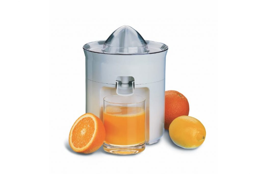 working on a citrus juicer