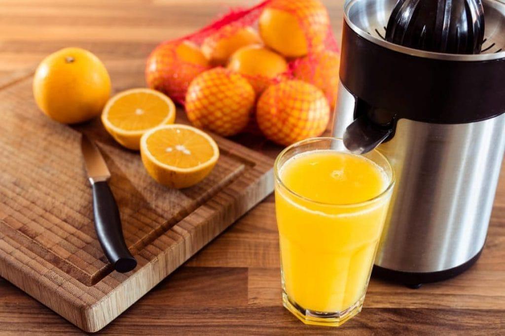 a citrus juicer
