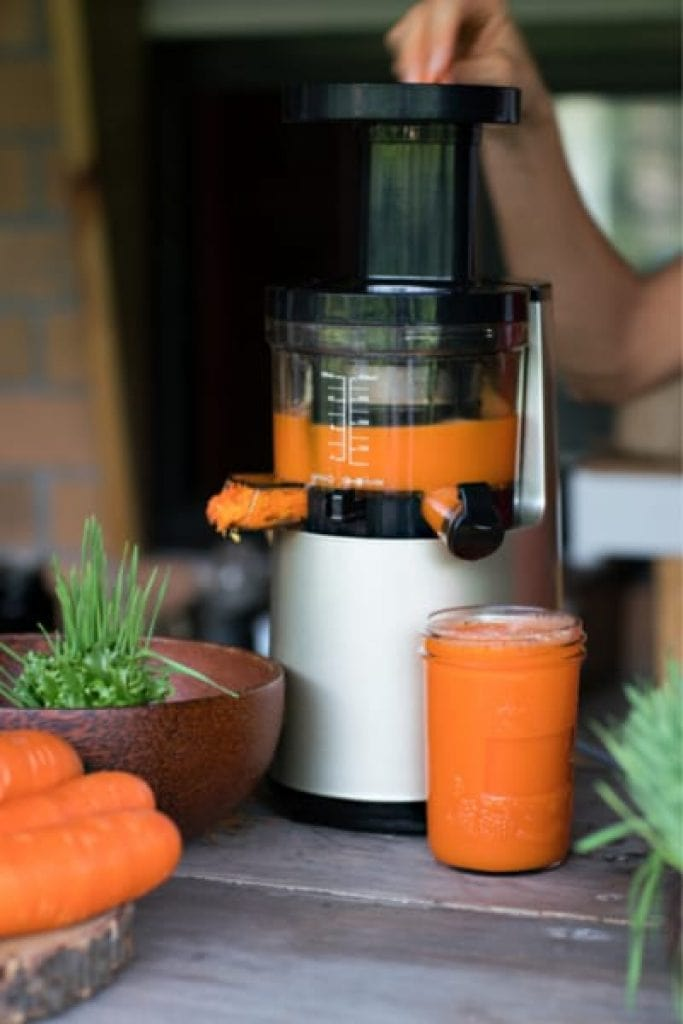 ease of using carrot and beetroot juicers