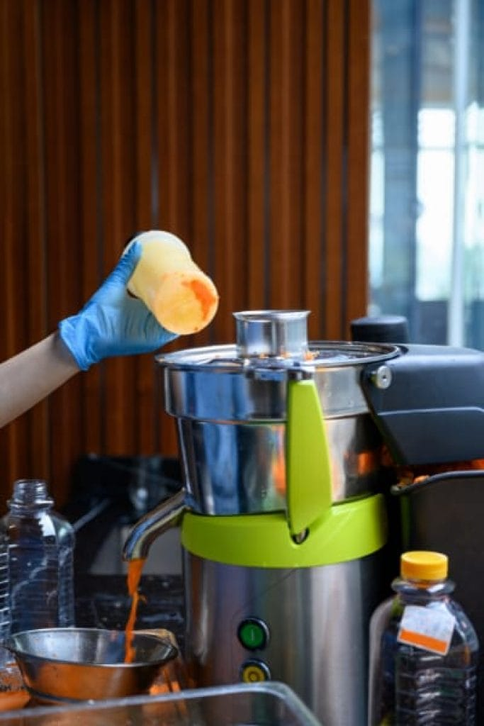 high power carrot and beetroot juicer