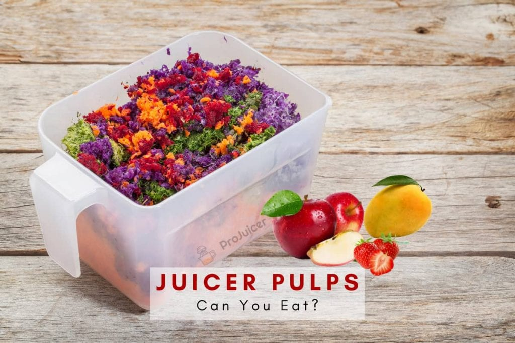 pulps from juicer