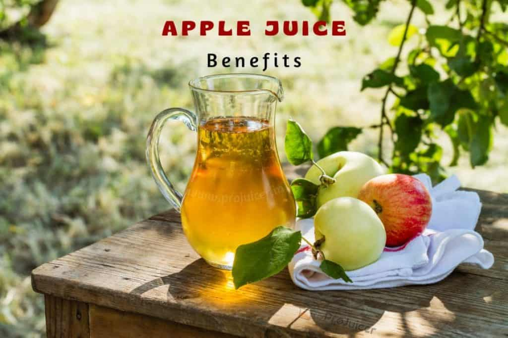 Benefits of Drinking Apple Juice at Home