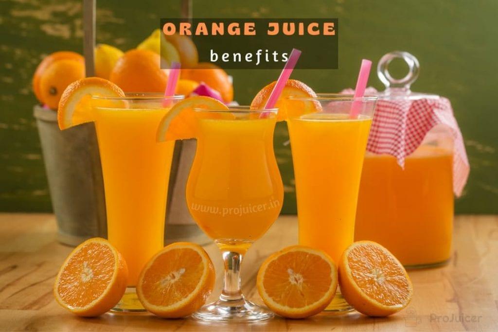 benefits of drinking orange juice daily