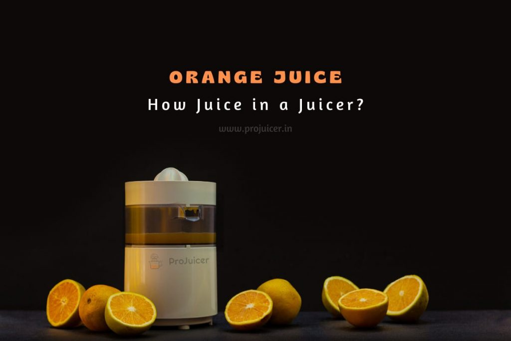 how to make orange juice with a juicer at your home